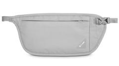 Сумка кошелек на пояс Pacsafe Coversafe V100 Светло-серый