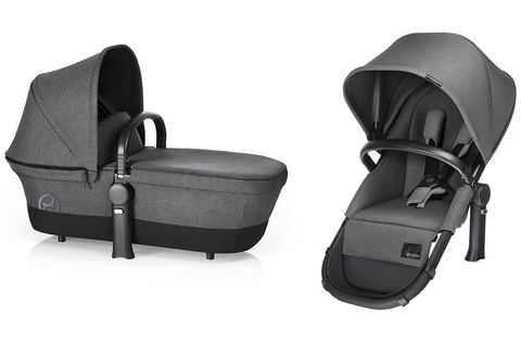 Набор 2 в 1 Cybex Priam Light Seat RB Manhattan Grey