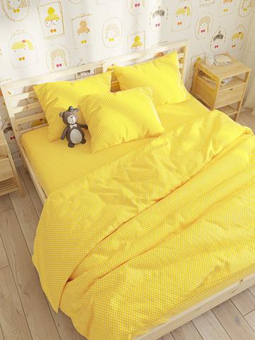 Пододеяльник  -Солнышко- 2-спальный на молнии 175х215 см