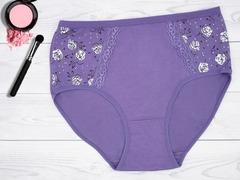 9303-9 трусы женские, фиолетовые