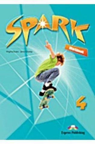 Spark 4 (Monstertrackers). Workbook (with digibook app) (international). Рабочая тетрадь (с ссылкой на электронное приложение