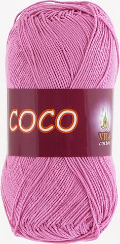 Пряжа Vita Coco 4304 светлый цикламен