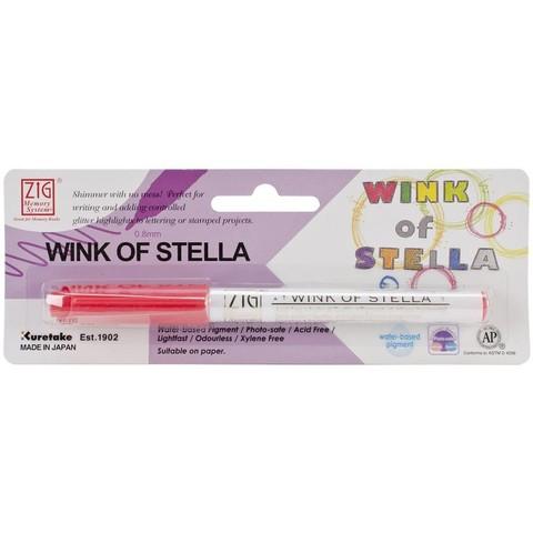 Маркер Wink Of Stella Glitter Marker с глиттером для придания эффекта блеска - RED
