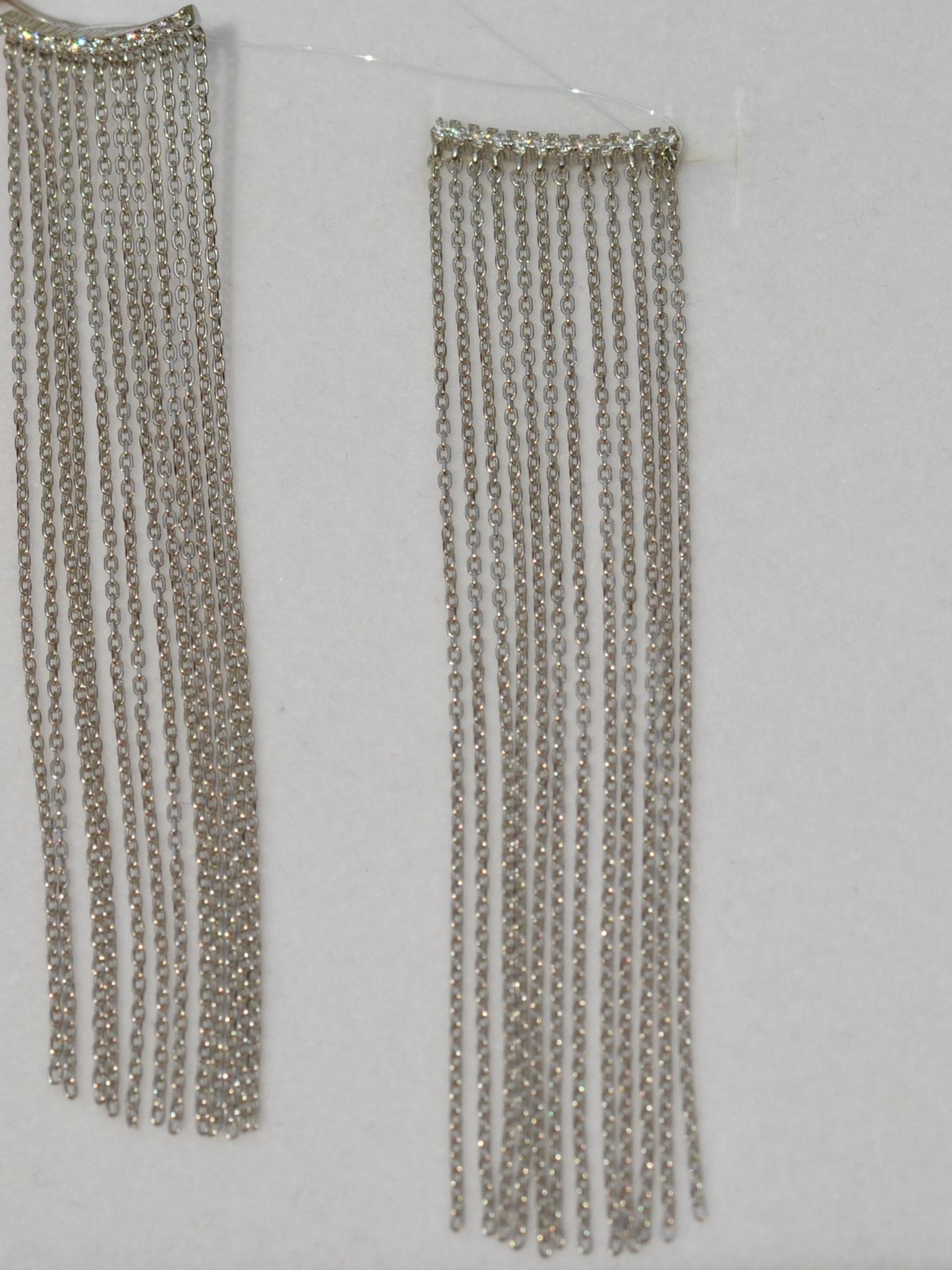 Каффы 9,0 (серебряные серьги)