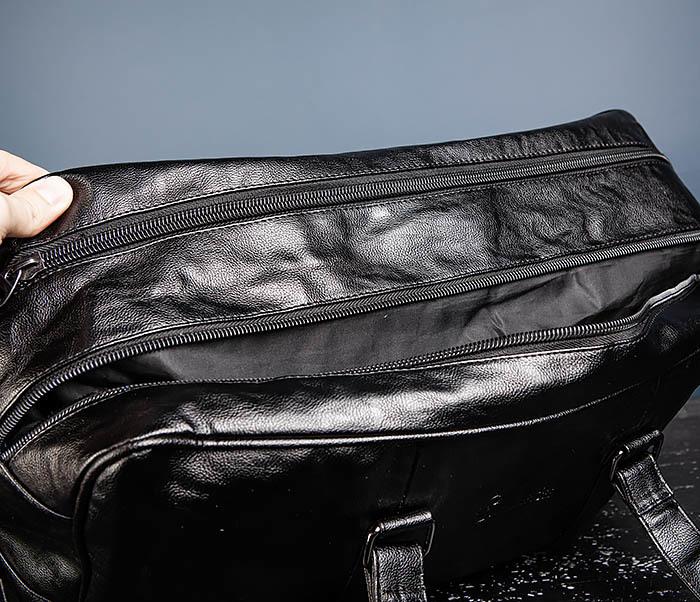 BAG549 Большая дорожная сумка из кожи фото 12