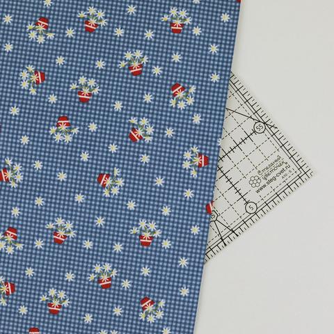Ткань для пэчворка, хлопок 100% (арт. PR0703)
