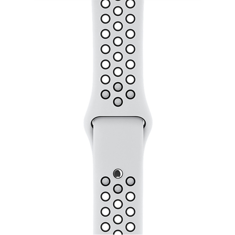 Watch S4 Nike+ 40mm Silver Al/Bl Nike Band