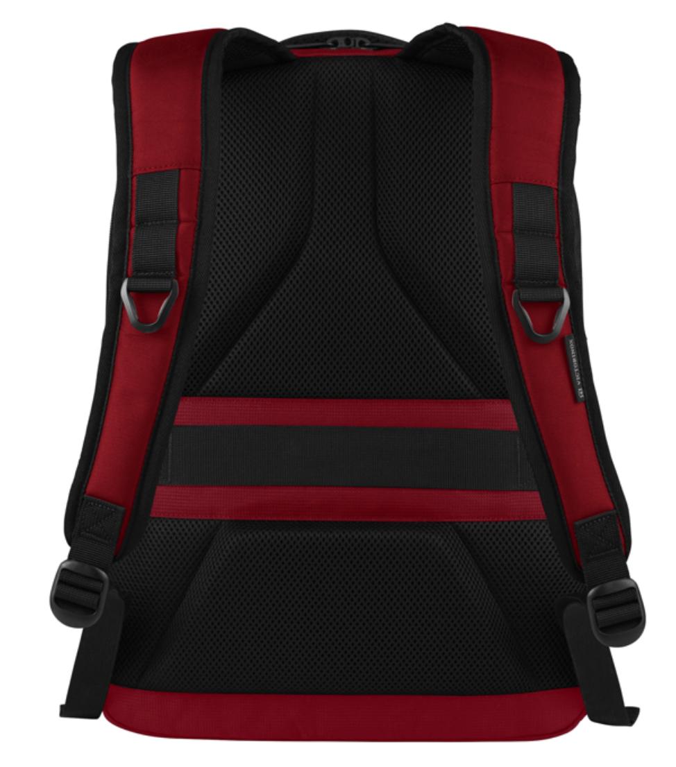 Рюкзак VICTORINOX VX Sport Evo Deluxe Backpack с отделением для ноутбука, цвет красный, полиэстер, 48x35x25 см., 28 л. (611417) Wenger-Victorinox.Ru