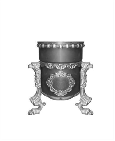 Урна чугунная литая «Грифон-2»