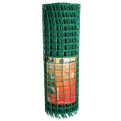 Сетка садовая пластиковая ромбическая Гидроагрегат 55x55мм, 1.5x20м, зеленая