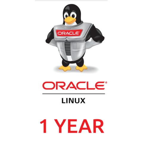 Сертификат на техническую поддержку Oracle Linux Basic Limited - 1 Year - Support