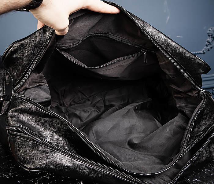 BAG549 Большая дорожная сумка из кожи фото 13