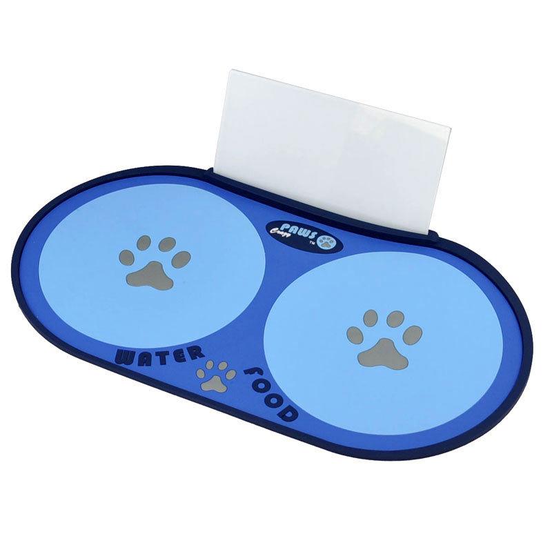 коврик для мисок собак