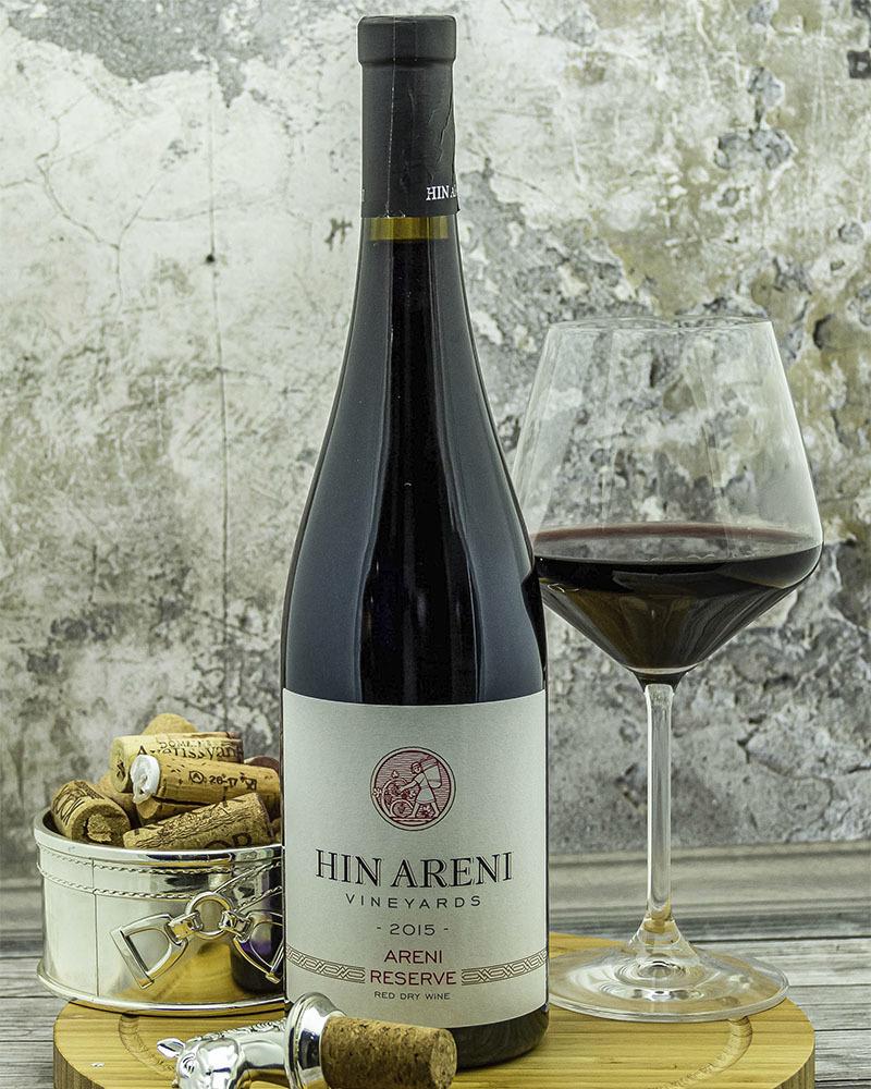 Вино Hin Areni Красное Cухое Резервное 2016 г.у. 14,8% 0,75 л.