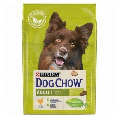 PURINA DOG CHOW Сухой корм для взрослых собак с курицей Adult Chicken