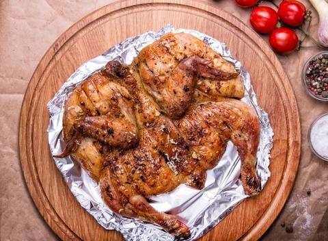 Цыпленок (корнишон) на мангале (1 шт)