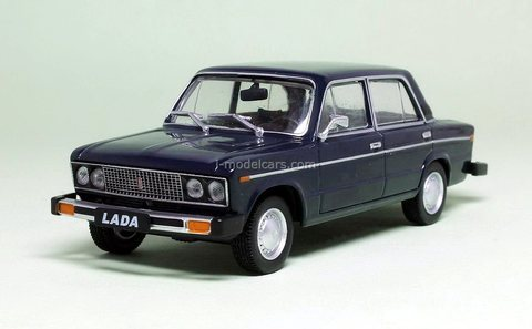 VAZ-21061 Lada (export to Canada) blue 1:43 DeAgostini Auto Legends USSR #274