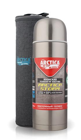 Термос Арктика (0,5 литра) с узким горлом, чехол