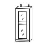 Кухня Капля 3D Шкаф верхний ПС 300