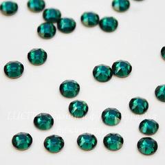 2078 Стразы Сваровски горячей фиксации Emerald ss16 (3,8-4 мм), 10 штук