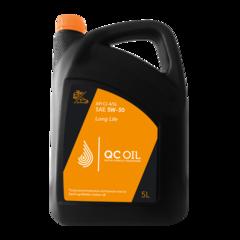 Моторное масло для грузовых автомобилей QC Oil Long Life 5W-30 (полусинтетическое) (5л.)
