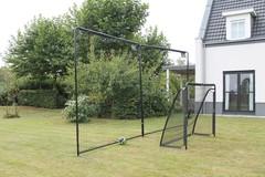 Зaщитный бaрьeр для футбoльных ворот 600 cм, 80078