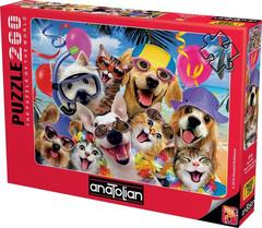 Puzzle Plaj Selfisi. Beach Party Selfie 260 pcs