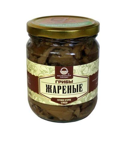 "Грибы ""Маслянинское лукошко"" жареные 500мл"