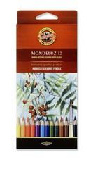 Набор акварельных карандашей MONDELUZ FRUIT 12 цветов в картонной коробке