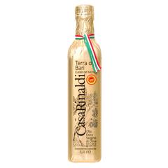 Масло Casa Rinaldi оливковое Extra Virgine DOP из региона Апулия в золотой обертке 500 мл