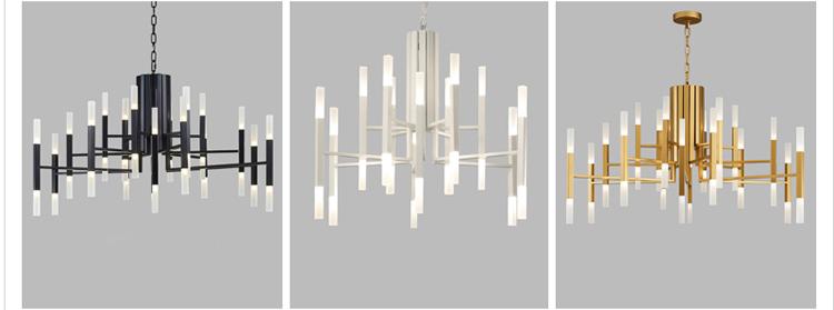 Подвесной светильник копия THE LIGHT by Alma 18 плафонов (белый)