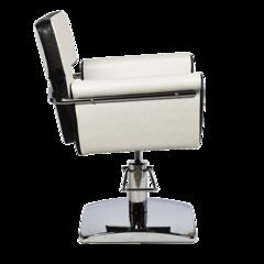 Парикмахерское кресло МД-77 гидравлика хром, квадрат хром
