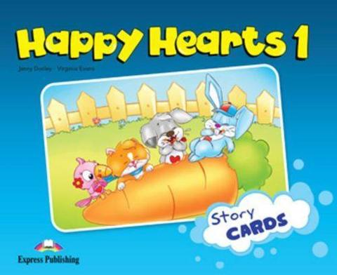 Happy Hearts 1. Story Cards. Сюжетные картинки к учебнику. (international)