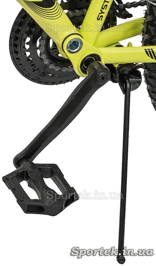 Подножка и педаль
