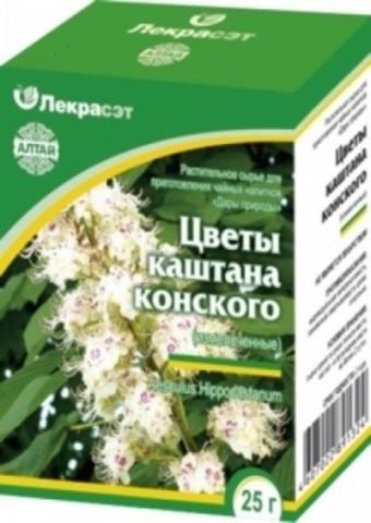 Каштан конский цветы 25 г.