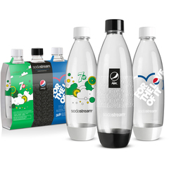 Набор бутылок по 1Л Sodastream Fuse Pepsi (3х1Л)