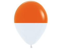 Шар Биколор (Оранжевый)