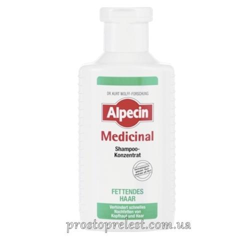 Alpecin Medicinal Shampoo-Konzentrat fettendes Haar - Шампунь концентрат против жирности кожи головы