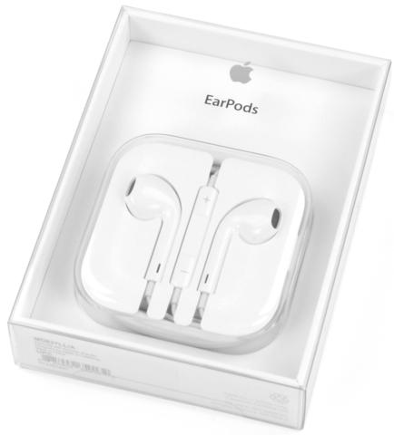 Наушники Apple EarPods (с разъемом 3.5мм)