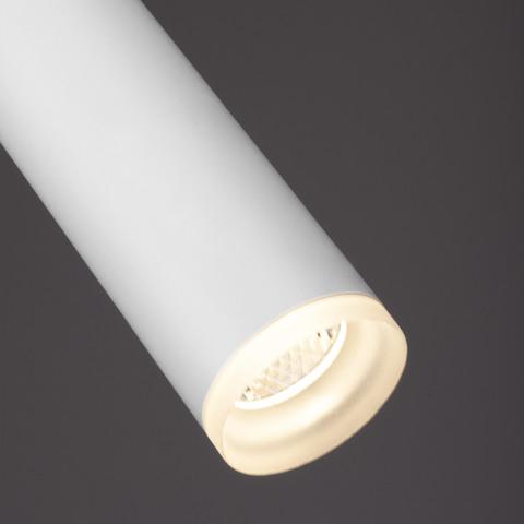 Подвесной светодиодный светильник DLR035 12W 4200K белый матовый