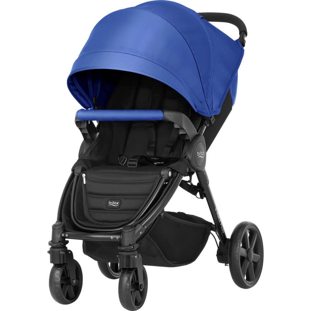 Britax B-Agile 4 Plus Прогулочная коляска Britax B-Agile 4 Plus Ocean Blue B-AGILE_4_PLUS_OceanBlue.jpg