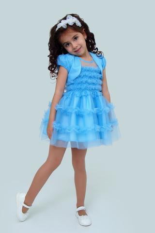 Платье детское + болеро (артикул 1Н56-1)