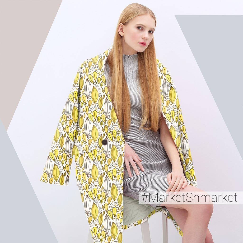 Жёлтый узор