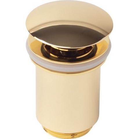 Донный клапан KАISER 8011 Gold ,автомат, золото