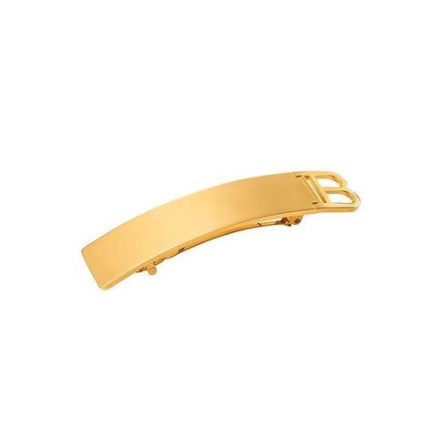 Balmain Золотая заколка-автомат Limited Edition Barrette Pour Cheveux B Gold