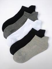 Носки женские спортивные (махровый след) (5 пар ) арт. В035 (р-р 35-38)