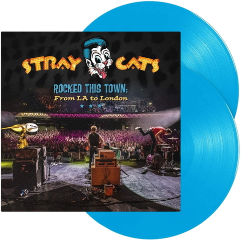 Stray Cats / Rocked This Town: From LA To London (Coloured Vinyl)(2LP)