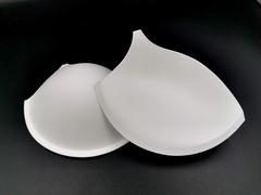 Чашки, с уступом под бретель, пуш-ап, белые, (Арт: АС50-001.75В),70С, 75В, 80А