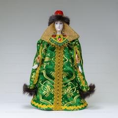 Сувенирная кукла Княжна в зимней телогрее