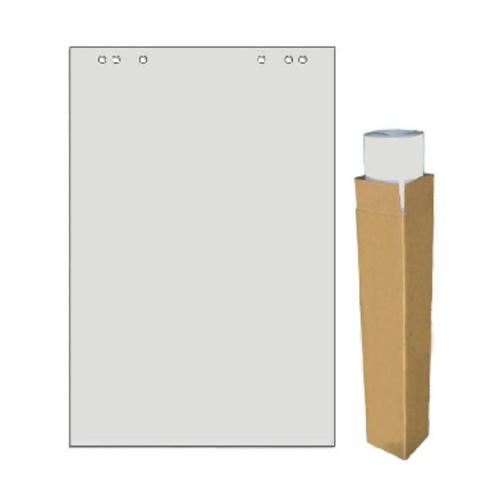Бумага для флипчартов Attache Economy Eco 65x98 см серая 20 листов (55- 60 г/кв.м, 5 штук в упаковке)